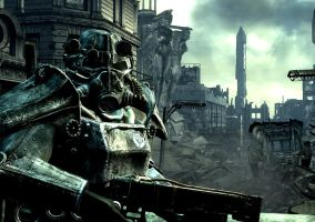 fallout 3 wallpaper base by Jesus-Fishboy