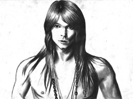Axl Rose by LaceyAndTheLevee