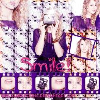 Blend Gif de Taylor Swift Smile! by EBELULAEDITIONS