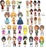 ALL OPEN ADOPTS {HUGE FILE} by MP-Adopts