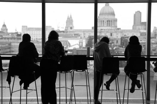 View from the Tate by TakeMeToAnotherPlace