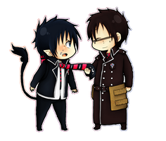 Brothers - Ao no Exorcist by chiaky