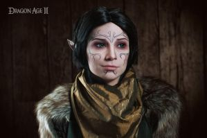 Merrill 2 - Dragon Age II cosplay by LuckyStrikeCosplay