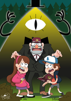 Gravity Falls Fan Art by GamerChazz