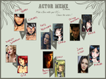 .:All these things I hate:. Actor Meme by HellAwaitsArts