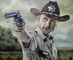 Rick Grimes by AnyaMorrison