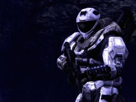 Halo Reach: Just A Soldier by purpledragon104
