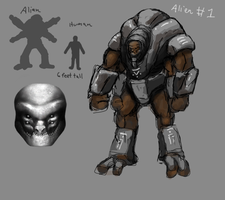 Possible alien concept 1 by Mr-Goblin