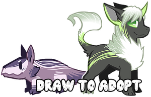 Muuri+Croco Draw2Adopt [closed] by Mousu
