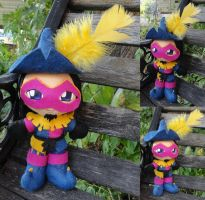 Commission, Mini Plushie Clopin by ThePlushieLady