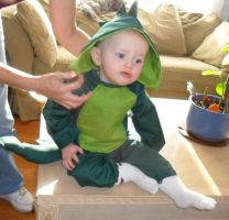 Baby Dino Costume by PhantastiquePhoenix