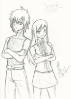 Jellal and Erza by Maygirl96