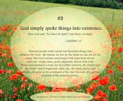 Bible Refresher 40 - Arise, Flowers! by PoppyCorn99
