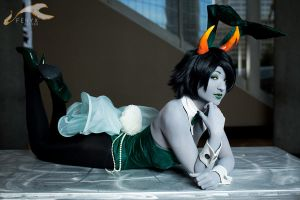 Bunny Girl Kanaya - Homestuck by Mostflogged