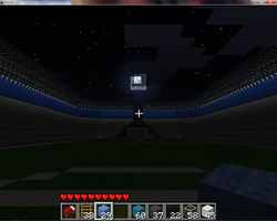 My Minecraft Stadium by cojocea2010