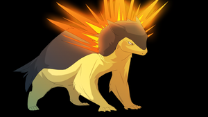 Typhlosion by SwankyShadow
