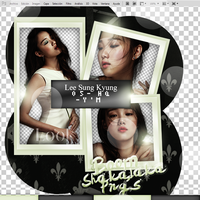 +LEE SUNG KYUNG|PACK PNG|100 by iLoveMeRight
