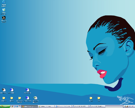 Another NEW Desktop...hmm x2 by SarshelYam
