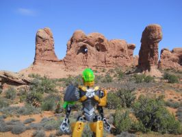 Rocka at Arches pic4 by ToaDJacara