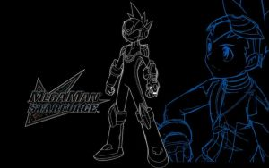 Megaman Starforce 3 Trace by MegamanXstream