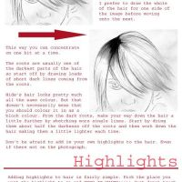Tutorial- How to draw hair by Rising-Stars