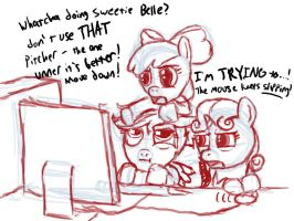Cutie Mark Computer Crusaders Yay by Art-Anon