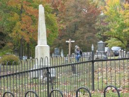 Cemetery View by Benni-M