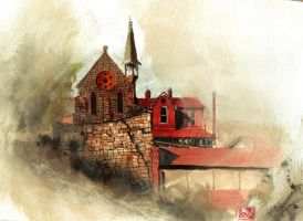 Church of the Ascencion by lloyd-art