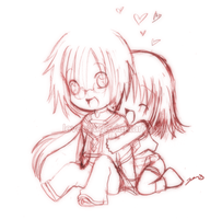Doodle: Val et Reyna by Leversa