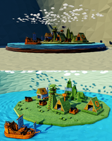 Pirates island by Nushulica