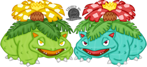 003 Venusaur by Blackmoonrose13