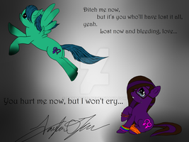 You hurt me now... by TayMay135