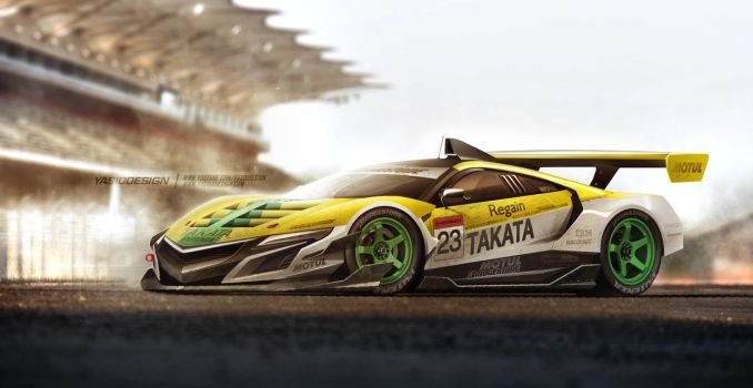 NSEX Final Super GT - (Painted from scratch)/VIDEO by yasiddesign