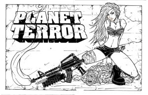 PLANET TERROR INKS by IRLGZZ