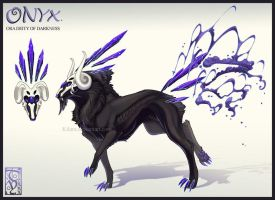 Onyx the ora of Darkness by kilara