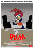 Plum Poster by JohnnyFive81