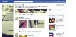 my profile on facebook by Aminebjd