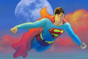 Superman....Christopher Reeve, the gold standard by strib