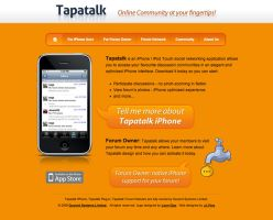 Tapatalk Website Design by JJ-Ying