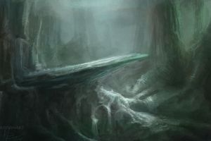 Dark Forest area by Raph04art