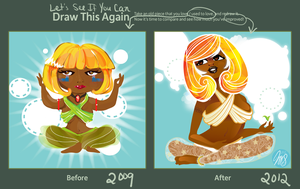 Draw This Again: Not So Zen by nicole-m-scott