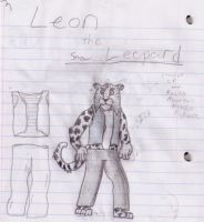 Leon the Snow Leopard by Firestormxx