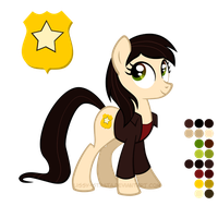 Reference Sheet: Gwen Cooper by LissyStrata