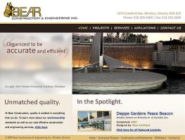 Bear Construction's Site by spryagency