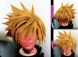 Roxas wig by sparr0