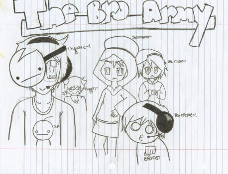 ~THE BRO ARMY~ by TrixyMuffin1399