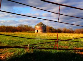 Lonely Silo by darkcravings23