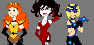 PPG Villain Women in my New Style by PurfectPrincessGirl