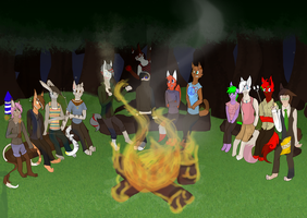 Let's Gather 'Round The Campfire by Surgetic