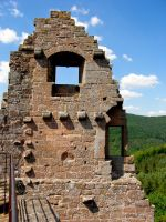 old castle walls2 by archaeopteryx-stocks